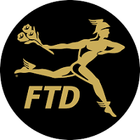 TELEFLORA & FTD logo