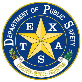 Texas Department of Public Safety logo