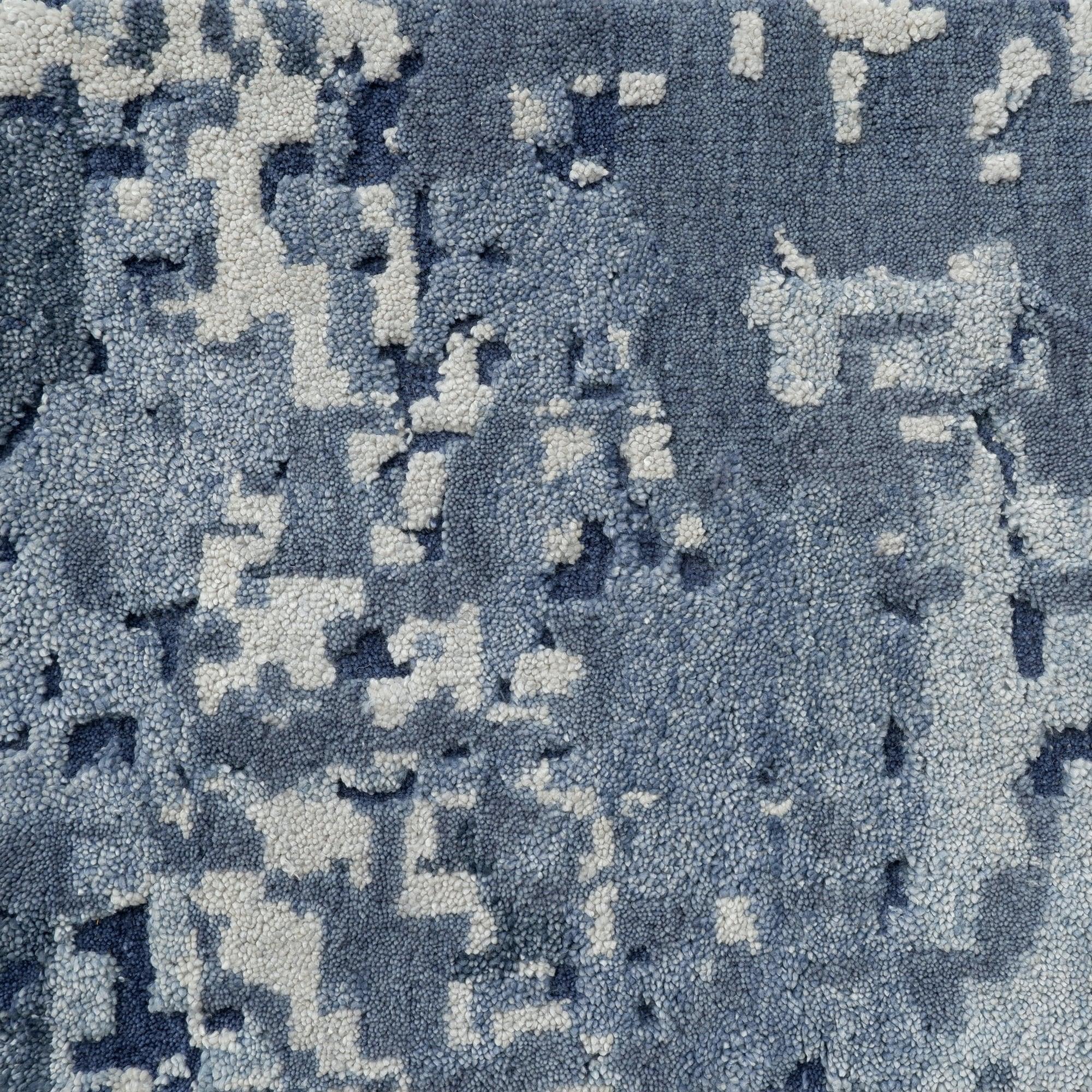 Blue Quartz Rug