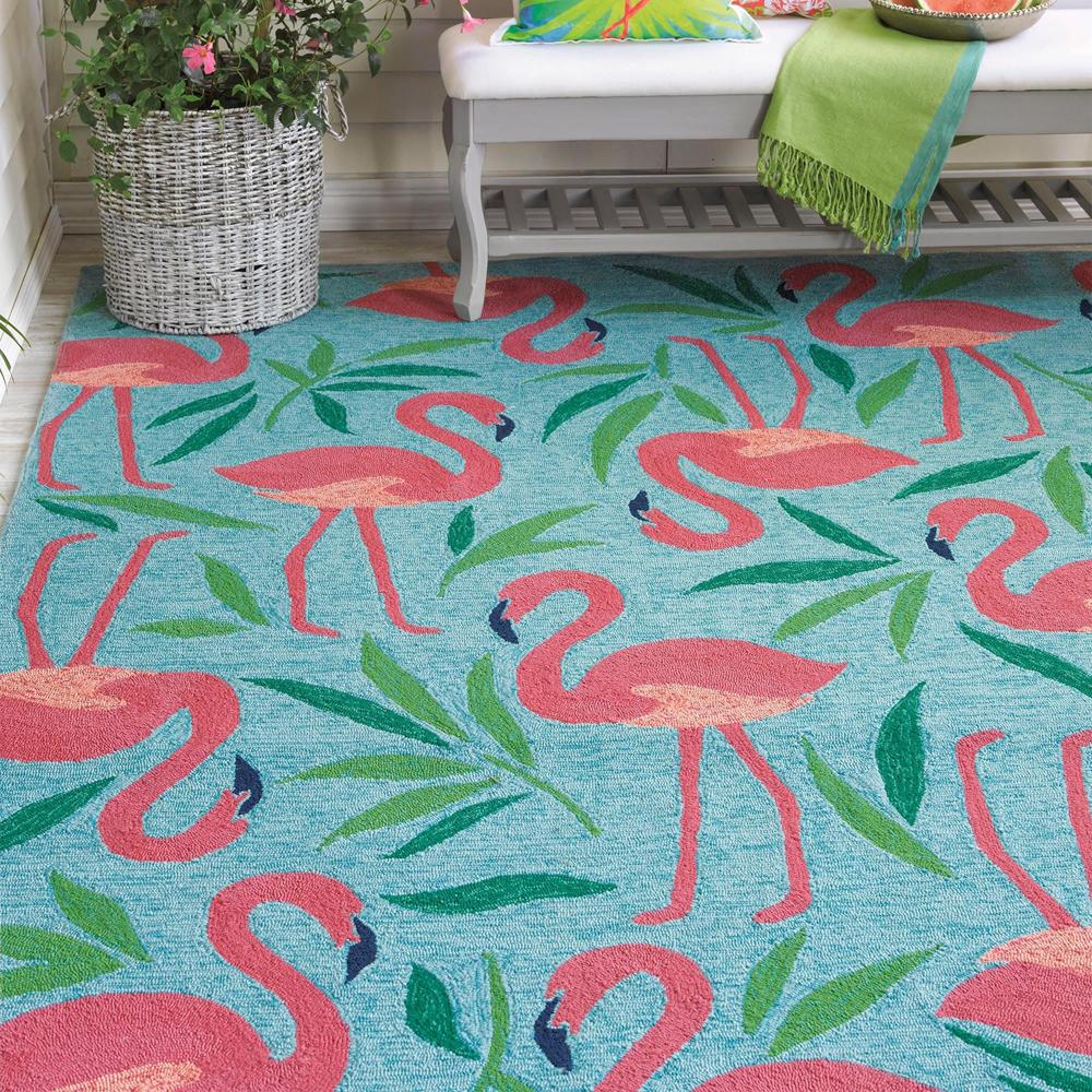 Fancy Flamingo Rug image 6
