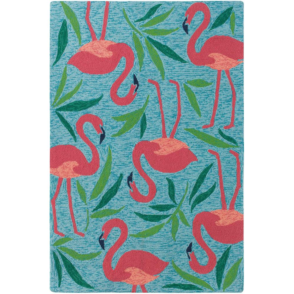 Fancy Flamingo Rug image 1
