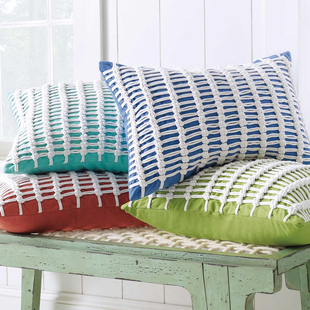 Macrame Pillow image 2