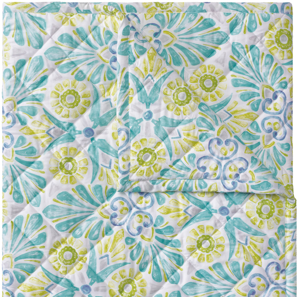 Painted Medallions Quilt & Shams image 1