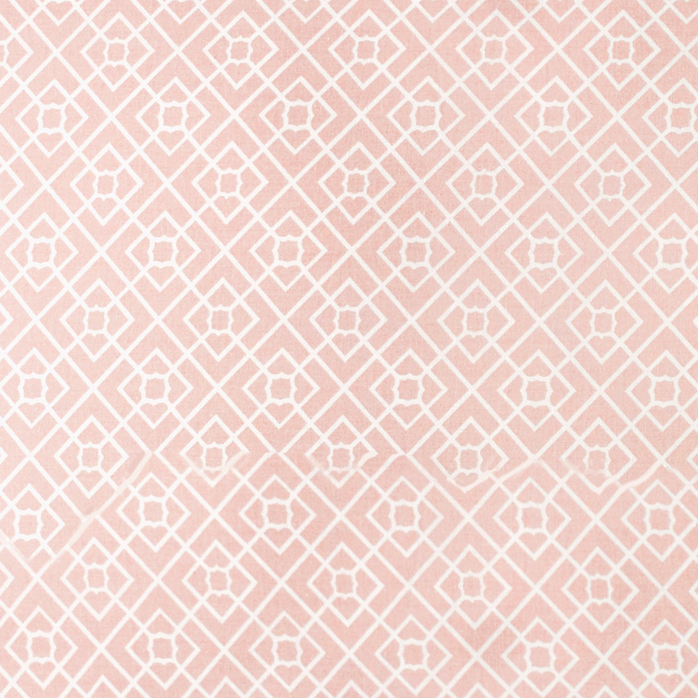 Diamond Lattice Shower Curtain image 2