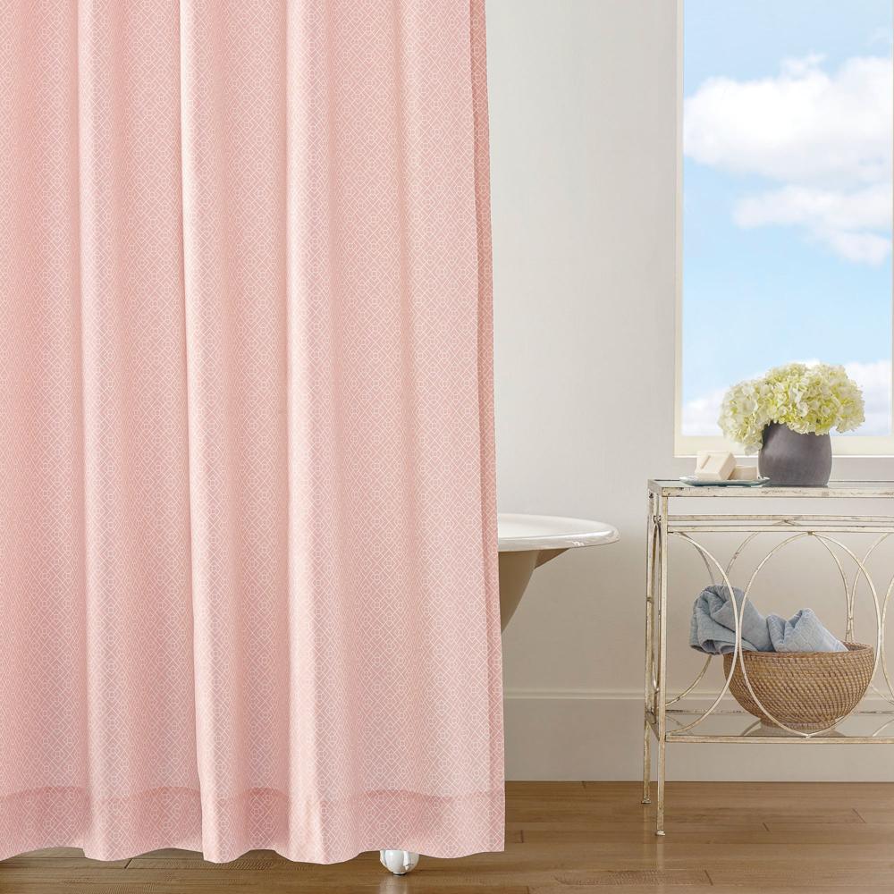 Diamond Lattice Shower Curtain image 1