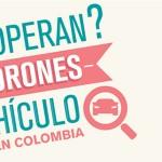 ¿Cómo operan los ladrones de vehículos en Colombia? – Infografía