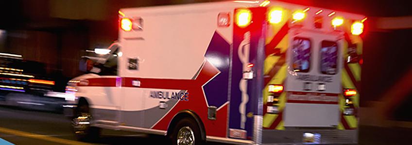 Lo que debes hacer cuando se aproxima una ambulancia