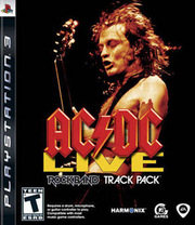 AC/DC Live: Rock Band Track Pack para PS3