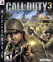 Call of Duty 3 para PS3