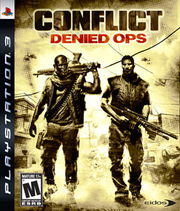 Conflict: Denied Ops para PS3