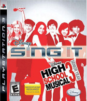 Disney Sing It! High School Musical 3: Senior Year para PS3