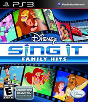 Disney Sing It: Family Hits para PS3