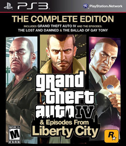 Grand Theft Auto IV: The Complete Edition para PS3