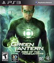 Green Lantern: Rise of the Manhunters para PS3