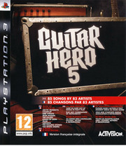 Guitar Hero 5 para PS3