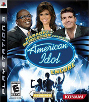Karaoke Revolution Presents: American Idol Encore para PS3