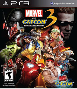 Marvel vs. Capcom 3: Fate of Two Worlds para PS3