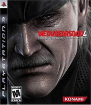 Metal Gear Solid 4: Guns of the Patriots para PS3
