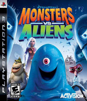 Monsters vs. Aliens para PS3