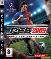 Pro Evolution Soccer 2009 para PS3