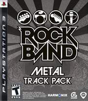 Rock Band Metal Track Pack para PS3