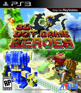 3D Dot Game Heroes para PS3