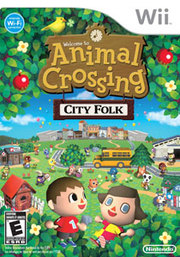 Animal Crossing: City Folk para Wii