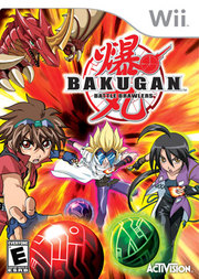 Bakugan Battle Brawlers para Wii