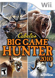 Cabela-s Big Game Hunter 2010 para Wii