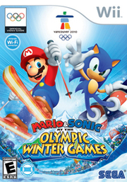 Mario & Sonic at the Olympic Winter Games para Wii