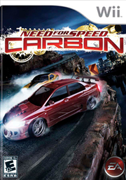 Need for Speed Carbon para Wii