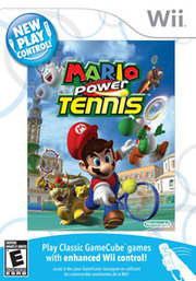 New Play Control! Mario Power Tennis para Wii