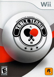 Rockstar Games presents Table Tennis para Wii