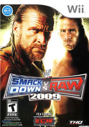 WWE SmackDown vs. Raw 2009 para Wii
