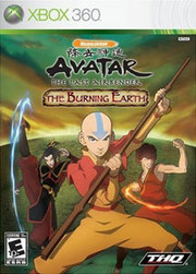 Avatar: The Last Airbender - The Burning Earth para XBOX 360