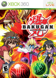 Bakugan Battle Brawlers para XBOX 360