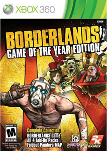 Borderlands: Game of the Year Edition para XBOX 360