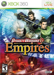 Dynasty Warriors 6 Empires para XBOX 360
