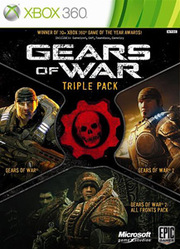 Gears of War Triple Pack para XBOX 360