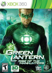 Green Lantern: Rise of the Manhunters para XBOX 360