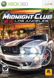 Midnight Club: Los Angeles para XBOX 360