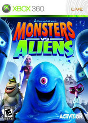 Monsters vs. Aliens para XBOX 360