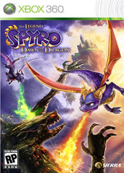 The Legend of Spyro: Dawn of the Dragon para XBOX 360