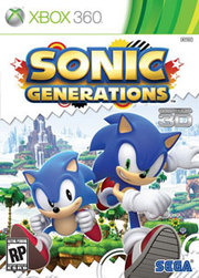 Sonic Generations para XBOX 360