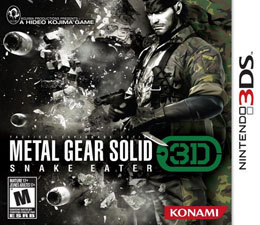 Metal Gear Solid: Snake Eater 3D para 3DS
