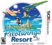 Pilotwings Resort para 3DS