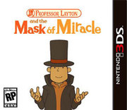 Professor Layton and the Mask of Miracle para 3DS