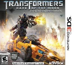Transformers: Dark of the Moon - Stealth Force Edition para 3DS