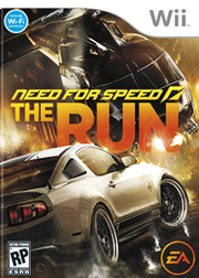 Need for Speed The Run para Wii