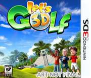 Let's Golf 3D para 3DS